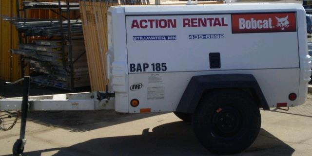 Where to find 185CFM COMPRESSOR BOBCAT  1 in Stillwater
