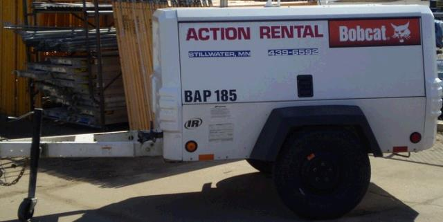 Where to find 185CFM COMPRESSOR BOBCAT  2 in Stillwater